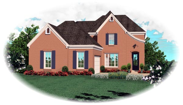 Traditional House Plan 46637 Elevation