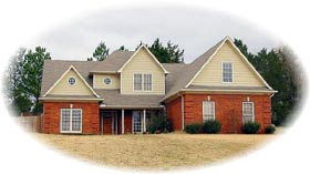Traditional House Plan 46639 Elevation