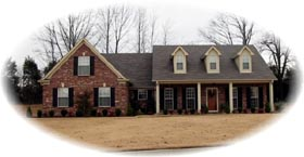Traditional House Plan 46640 Elevation