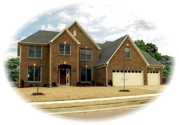 Traditional House Plan 46650 Elevation