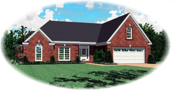 Traditional House Plan 46673 Elevation