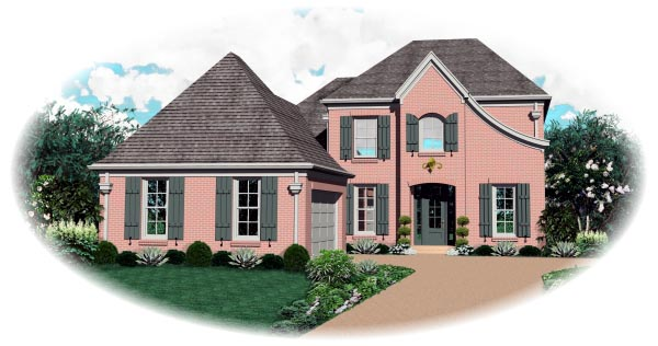 Traditional House Plan 46678 Elevation