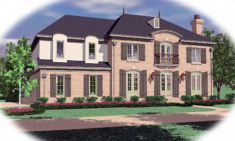 Tudor House Plan 46680 Elevation