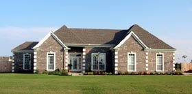 House Plan 46684 | Traditional Style Plan with 1879 Sq Ft, 3 Bedrooms, 2 Bathrooms, 2 Car Garage Elevation