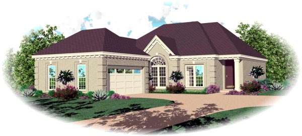 Traditional House Plan 46688 Elevation