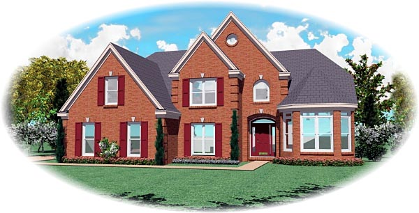 Victorian House Plan 46696 Elevation