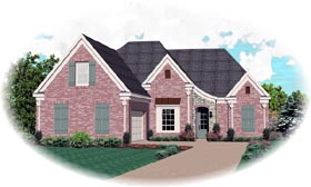 Traditional House Plan 46703 Elevation