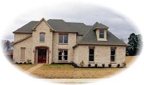 House Plan 46709 Elevation