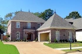 House Plan 46721 Elevation