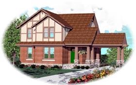 Craftsman House Plan 46728 Elevation