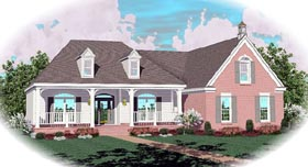 Country House Plan 46733 Elevation