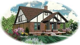 Craftsman House Plan 46735 Elevation