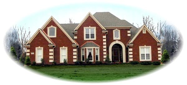 Victorian House Plan 46737 Elevation