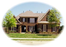 Traditional House Plan 46742 with 4 Beds, 4 Baths, 3 Car Garage Elevation