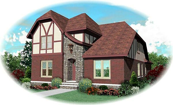 Craftsman House Plan 46764 Elevation