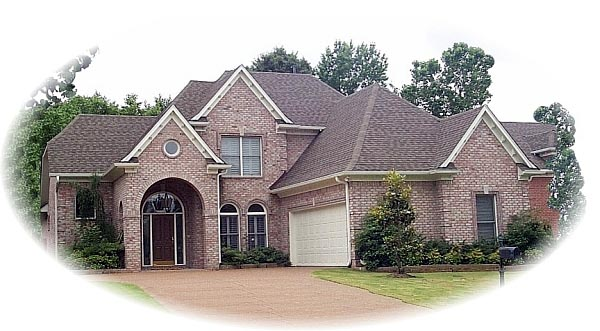 House Plan 46767 | Style Plan with 2593 Sq Ft, 3 Bedrooms, 3 Bathrooms, 2 Car Garage Elevation