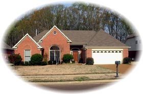 House Plan 46768 Elevation