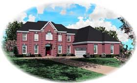House Plan 46773 Elevation