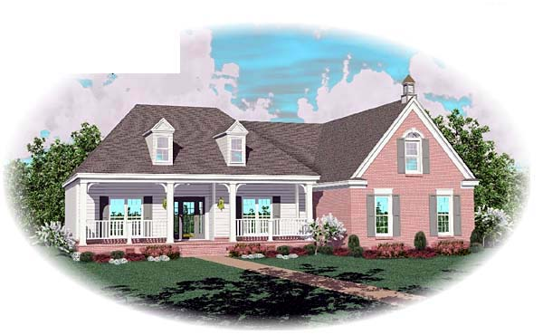 Southern House Plan 46775 Elevation