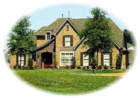 Tudor House Plan 46791 Elevation