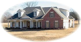 House Plan 46800 Elevation