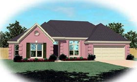 Traditional House Plan 46801 Elevation