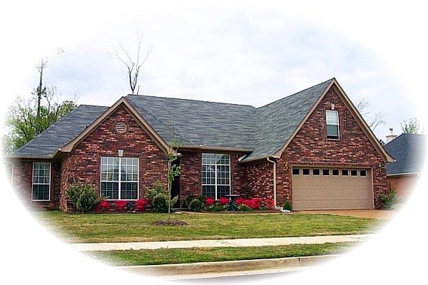 House Plan 46804 Elevation