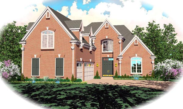 House Plan 46811 Elevation