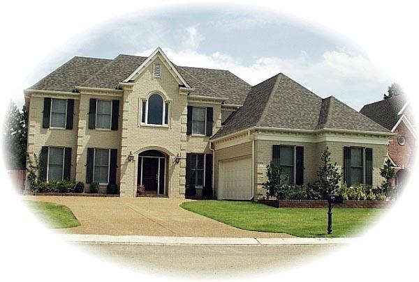 House Plan 46816 Elevation