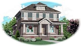 Craftsman House Plan 46821 Elevation