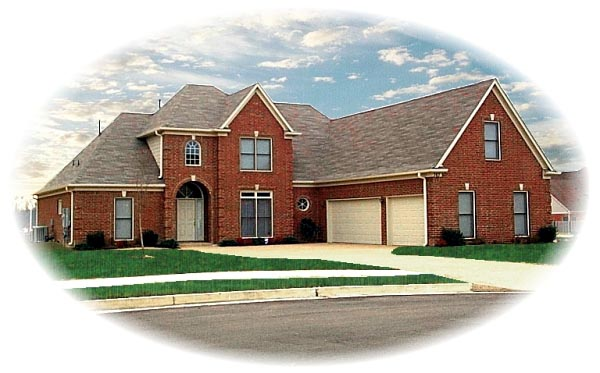 House Plan 46829 Elevation