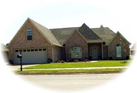 House Plan 46834 Elevation
