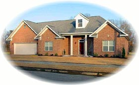 House Plan 46842 Elevation