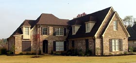 Traditional House Plan 46871 Elevation