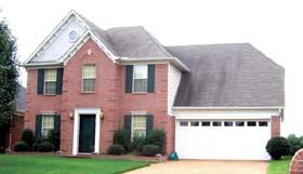 House Plan 46872 Elevation