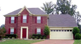 House Plan 46877 Elevation