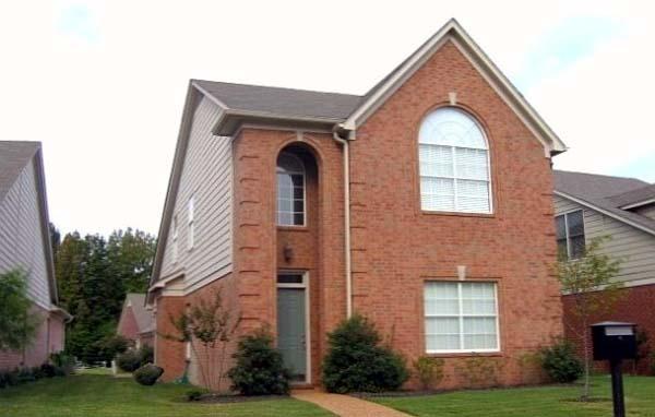 House Plan 46878 Elevation