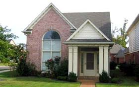 House Plan 46879 with 3 Beds, 3 Baths, 2 Car Garage Elevation