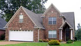House Plan 46897 Elevation