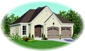 Plan Number 46908 - 1355 Square Feet