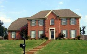 House Plan 46914 Elevation