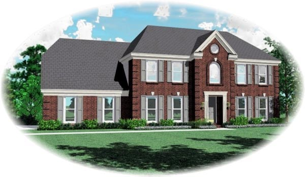 House Plan 46915 Elevation