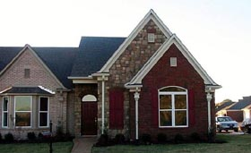 House Plan 46919 Elevation