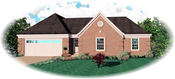 House Plan 46935 Elevation