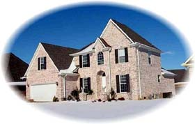 House Plan 46950 with 4 Beds, 3 Baths, 2 Car Garage Elevation