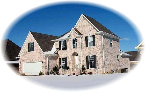 House Plan 46950 Elevation