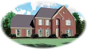 House Plan 46960 Elevation