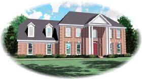 House Plan 46963 Elevation