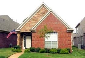 House Plan 46978 with 3 Beds, 2 Baths, 2 Car Garage Elevation