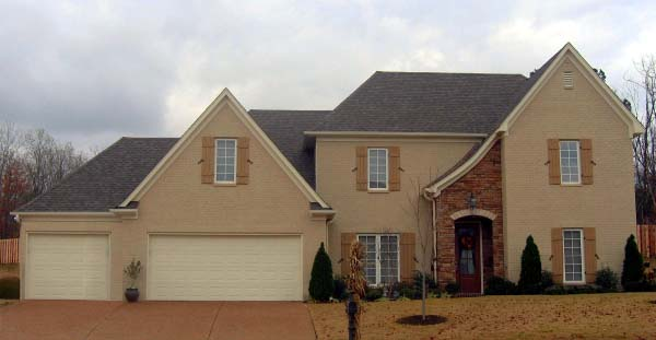 House Plan 46989 Elevation
